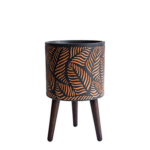 Our #2 Pick is the D'vine Dev Indoor Tall Plant Pot with Stand