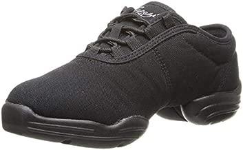 Capezio unisex-adult Black Canvas Dance Sneaker, 7 M US