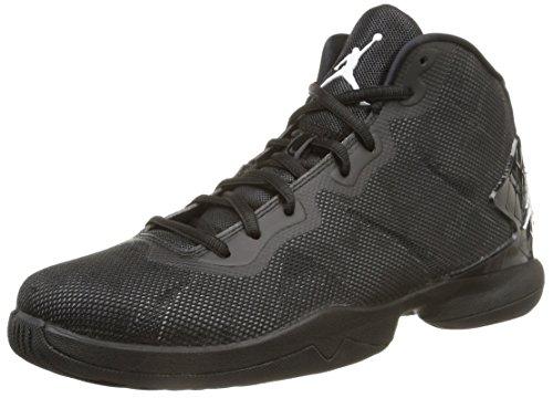Nike Herren, Jordan super.Fly 4, Mehrfarbig (Black/White-drk Grey-Infrrd 23), 42