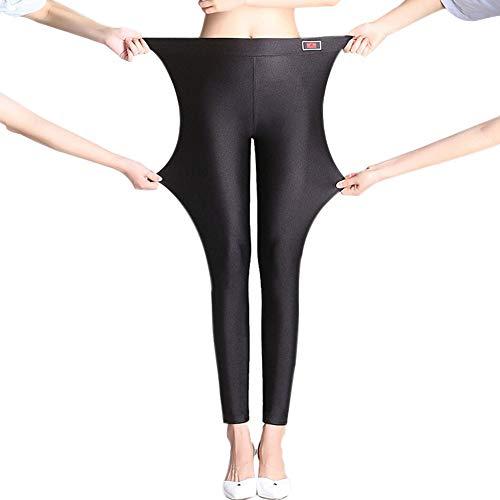 CHIYEEE Frauen Leggings Herbst Frühling Elastische Hosen Stretchy Strumpfhosen für Mädchen Damen 4XL