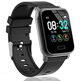 L8star Fitness Tracker, Activity Tracker with Heart Rate Sleep Monitor 1.3inch Color Screen Long Battery Life Include a…