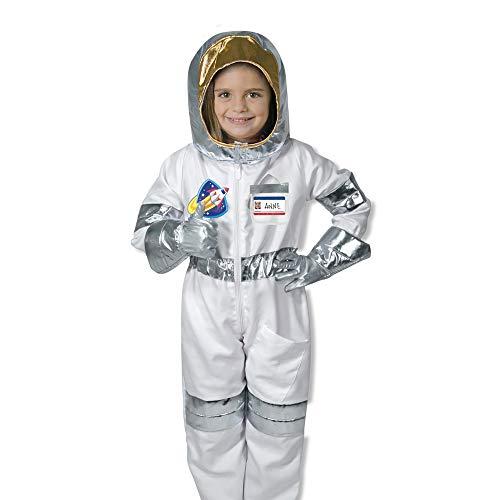 Melissa & Doug 18503 Astronaut Rollenspiel-Kostüm-Set (5-teilig), mehrfarbig, 4,1 cm, B x 43,7 cm, Alter 3-6 Jahre