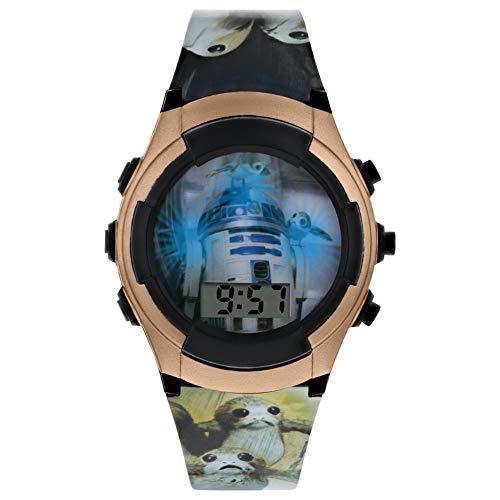 Star Wars Jungen Digital Uhr mit PU Armband SWJ4041