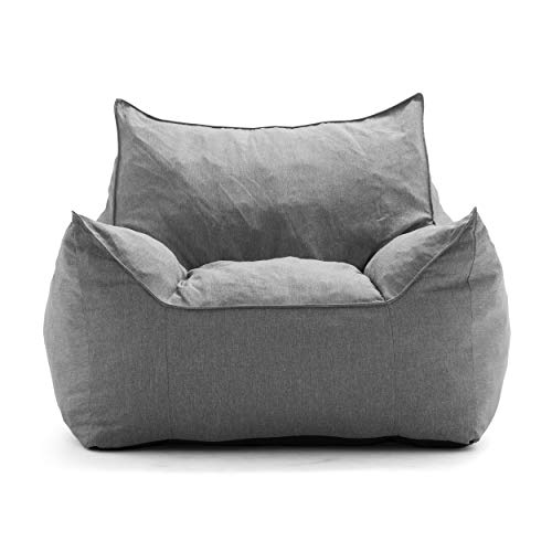 Big Joe Lux Imperial Lounger in Union, Gray