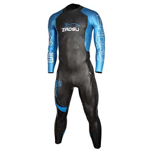 Zaosu Racing Elite Air Triathlon neopreenpak voor heren, wetsuit met aerodome