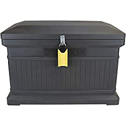 ParcelWirx Premium Horizontal Delivery Drop Box w/Hinged Lid