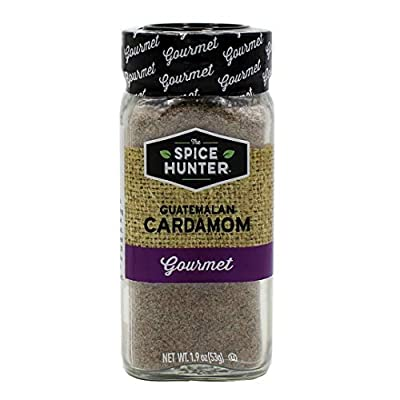 The Spice Hunter Guatemalan Cardamom, Ground, 1.9-Ounce Jar