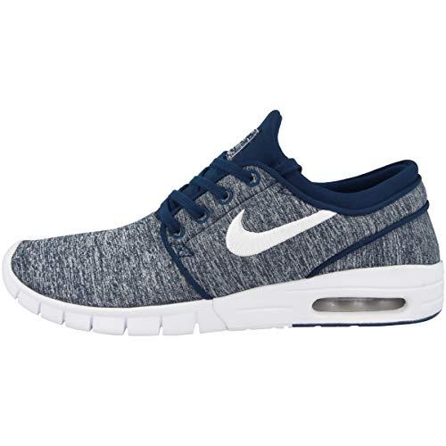 Nike Stefan Janoski MAX, Zapatillas de Deporte para Hombre, Azul (Blue Void/White 405), 45 EU