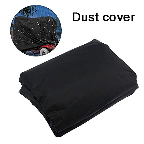 Persiverney Mobility Scooter Storage Cover Waterproof Nylon Fabric Cover 17061117cm Come with A Carry Bag