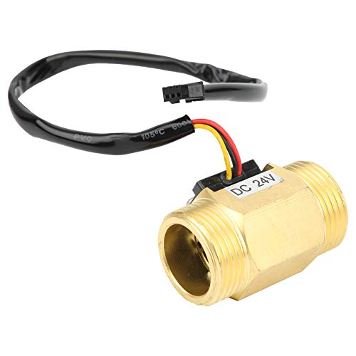 Caudalímetro Hall Sensor de latón resistente a altas temperaturas YF-B10 Resistencia a la oxidación para máquinas expendedoras de agua