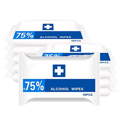 Persoonlijke reinigingsdoekjes, Alcohol Wet Pads, Household Zwabber for All Daily Protection en in openbare ruimtes, 10Pcs / Box