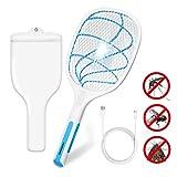 MIGICSHOW Raquette Anti-Moustique Electrique, Raquette Electrique Insectes...