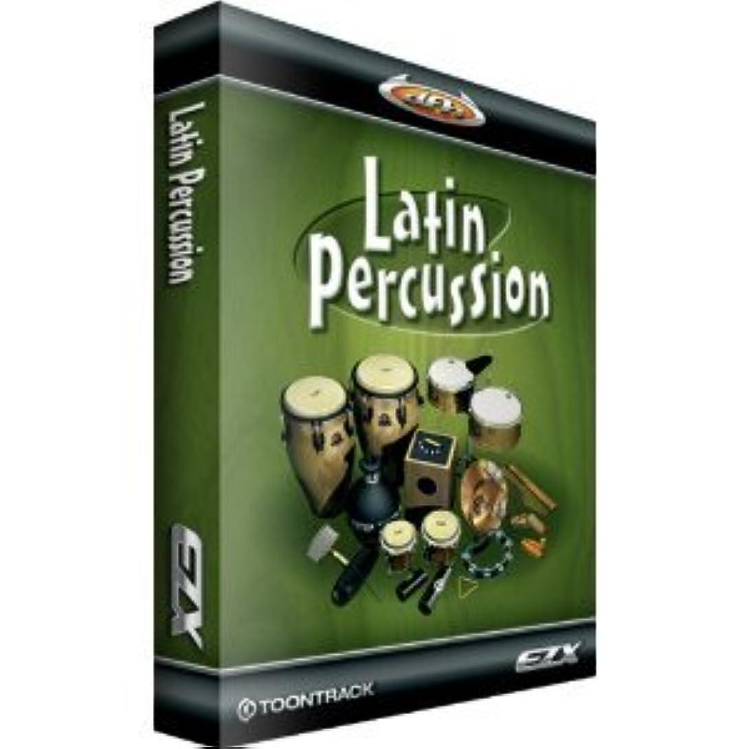 リードシリングコート◆最新版◆Toontrack EZX LATIN PERCUSSION◆EZ drummer 拡張音源◆『並行輸入品』
