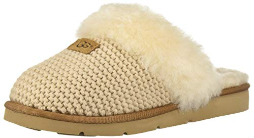 UGG Australia Damen Hausschuhe Cozy Knit Slipper 1095116 CRM beige 569181, Beige, 42 EU
