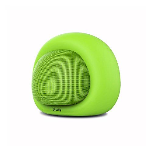 Celly Bubble Beat Mono Portable Speaker 3W Negro - Altavoces portátiles (1.0 Canales, 3 W, Inalámbrico y alámbrico, 4.1+EDR, Micro-USB, Mono Portable Speaker)