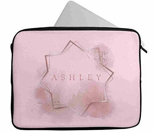 Personalised Any Name Generic Design Laptop Case Sleeve Tablet Bag Chromebook Gift 16 (16-17 inch)
