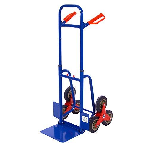 Profi Treppensackkarre auch Treppensackkarre genannt mit einer Traglast von 150 KG