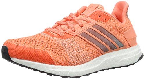 adidas Damen Ultra Boost ST W Laufschuhe, Rot/Orange/Schwarz (Brisol/Narsup/Negbas), 44 EU