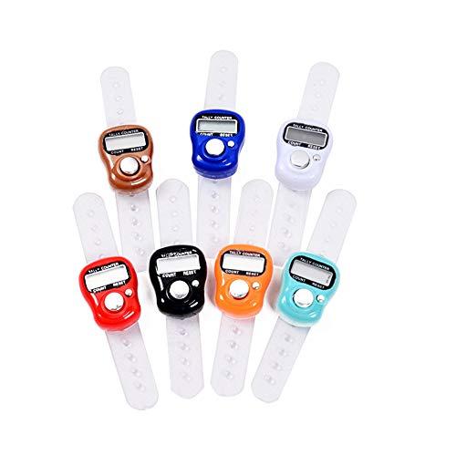 U/K Zähler Fingerzähler Buddha-Zähler LCD-Zähler Tragbarer Fingerzähler Kostengünstig und langlebiglanglebig