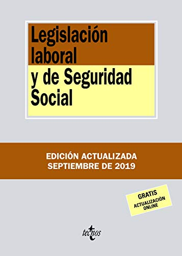 Legislación laboral y de Seguridad Social (Derecho - Biblio