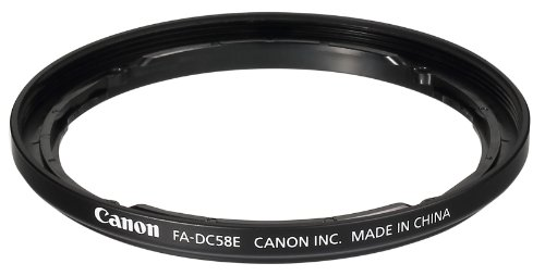 Filter adapter FA-DC58E for the Canon PowerShot G1 X Mark II