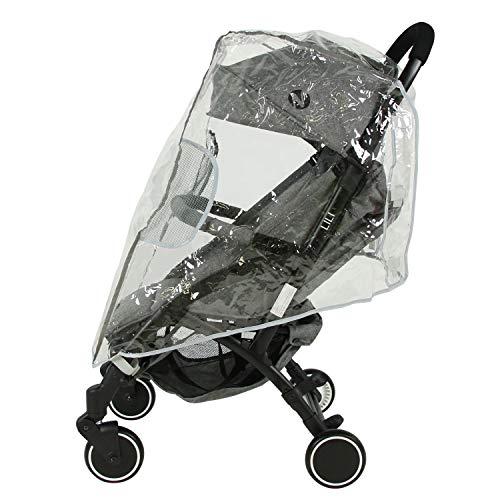Silla de paseo compacto Nania LILI 0-36 meses - Ligero 6kg - Con Plastico de lluvia (Plastico de lluvia)