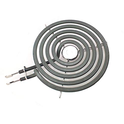 ANTOBLE Electric Range Burner 6' 5 Turns Heating Element Replacement for GE WB30M1 PS243867 AP2634727