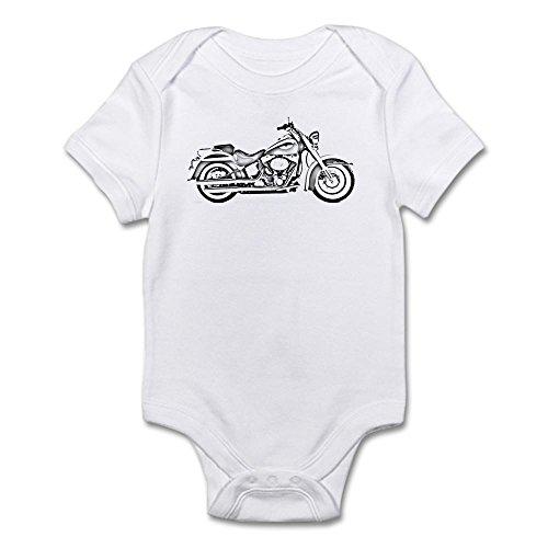 CafePress Chopper #1 Infant Creeper Cute Infant Bodysuit Baby Romper Cloud White