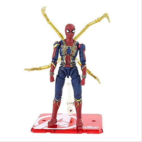 Geyang Vengadores Spiderman Figuras De Acción Superhéroe Spider Man PVC Juguetes De Modelos Coleccionables para Niños E 15cm con Caja