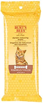 50-Count Burt's Bees Dander Reducing Wipes for Cats