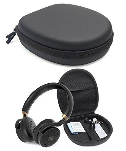 Matte Black Case for JBL Live 400bt, E55BT, E55BT Quincy Edition, E45BT; Skullcandy Hesh 3, Puro Sound, Bebe Boom, Sony MDRXB950, MDRXB650, Bose QC35, QC3, QC25, QC2, QC15
