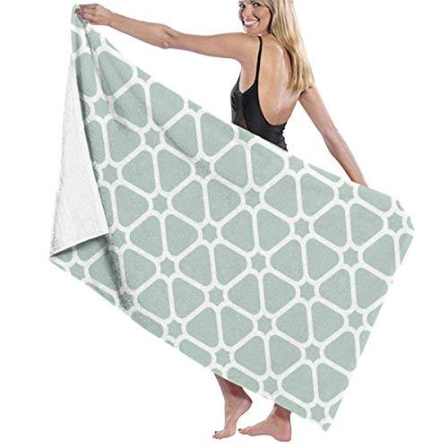 Yaxinduobao Seamless Pattern Background Soft Toalla de baño Highly Absorbent Multipurpose Towels Oversized Toalla de Playa for Travel Bathroom Hotel Gym SPA 31'x 51'