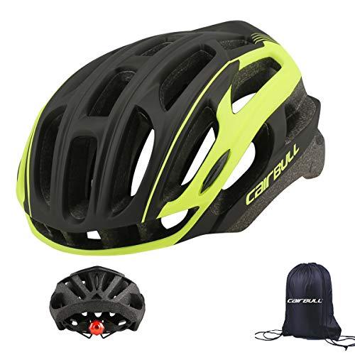 Cairbull - Casco de ciclismo para hombre y mujer (54-61 cm) con...