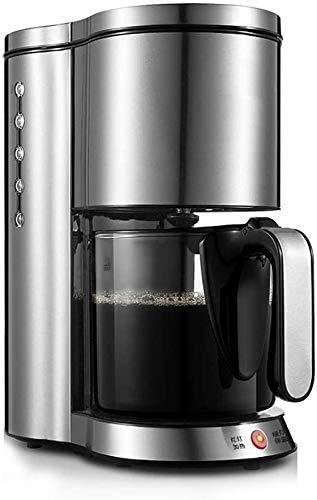 Utensilios de café de filtro de café de la máquina, completamente automático de apagado caliente Característica del mantiene por 40 minutos anti-goteo Diseño desmontable filtro y la placa caliente, 12