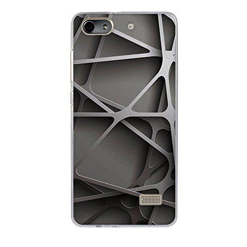 DIKAS Handyhülle für Huawei Honor 4C, Hülle für Huawei G Play Mini, TPU Softcase Silikon Tasche Anti-Scratch Telefon-Kasten Handyhülle Handycover für Huawei Honor 4C / für Huawei G Play Mini- Pic: 13 - 2