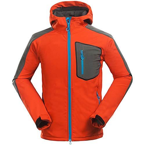 Starry Sky herenjack, outdoor klimmen herfst, sport en vrije tijd, waterdicht, ademend, winddicht, afneembare kap, synthetische wol coating