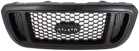 CarPartsDepot, Mesh Honey Comb Style Front Black Grille Grill Pickup Assembly, 400-18147 FO1200460 4L5Z8200DAF