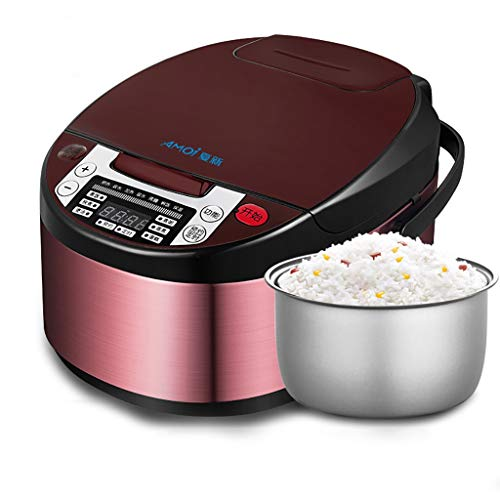 Rice Cooker Home Multifunctionele smart-rijstkoker, 3L-rijstkoker met afneembare non-stick pot pot 24-uurs timer rijstkoker