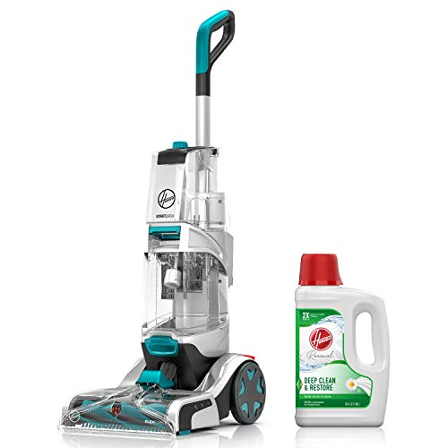 Buy Discount Hoover Smartwash Automatic Carpet Cleaner with Renewal Carpet Cleaning Solution (64 oz)...
