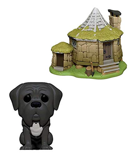 Funko Pop! Town – Harry Potter – Hagrid's Hut & Fang #08 Figura de vinilo de 10 cm realeased...
