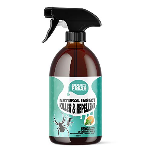 PRESSED TO FRESH - Natural Pest Control Spray for Home and Garden - Fly,...