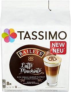 Tassimo Baileys Latte Macchiato Coffee Pods 8 per Pack