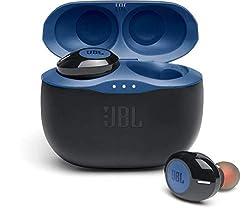 Écoutez votre musique ou répondez à vos appels avec les écouteurs JBL TUNE 125TWS 100 % sans fil - confortables, ils vous accompagnent où que vous alliez : pour une totale liberté de mouvement Ces écouteurs s'appairent à votre appareil Android ou iOS...