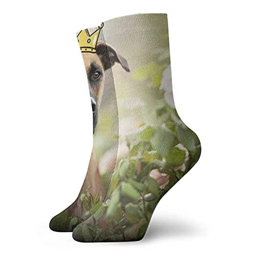 Kteubro Calcetines de vestir para hombre, con boca negra, 30 cm
