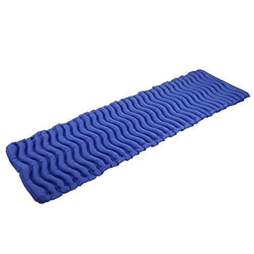 Oreilet Colchón Inflable, colchón Impermeable para Dormir sin Olor, Resistente al Aire Libre(Tender Sea Blue)
