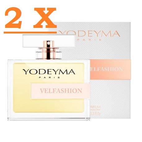 Perfume mujer Yodeyma Velfashion Eau de Parfum 100 ml 2 paquetes