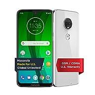 Moto G7 with Alexa Hands-Free – Unlocked – 64 GB – Ceramic Black (US Warranty) – Verizon, AT&T, T–Mobile, Sprint, Boost, Cricket, & Metro CDMA GSM