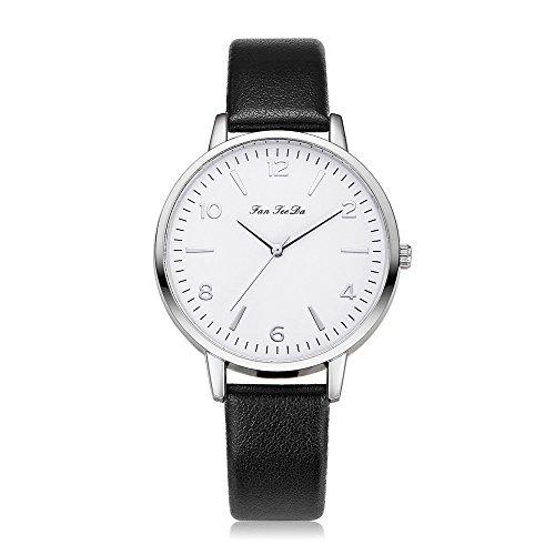Uhr Armbanduhr Quartzuhr Frauen Uhren Mode Damenuhr Beiläufig Armbanduhren Analoge Quarz Lederband Wasserdicht Günstig Geschäft Geschenke, Geschenke Für Frauen-2