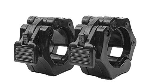 【good style】バーベルカラー バーベルプレート止め【黒 ブラック】バーベルロック ストッパー ベンチプレス スクワット ジム用 オリンピックバーベル 2インチ(内径 50mm) 2個セット