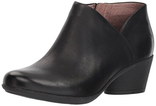 Dansko Women's Raina Black Burnished Nubuck Bootie 8.5-9 M US